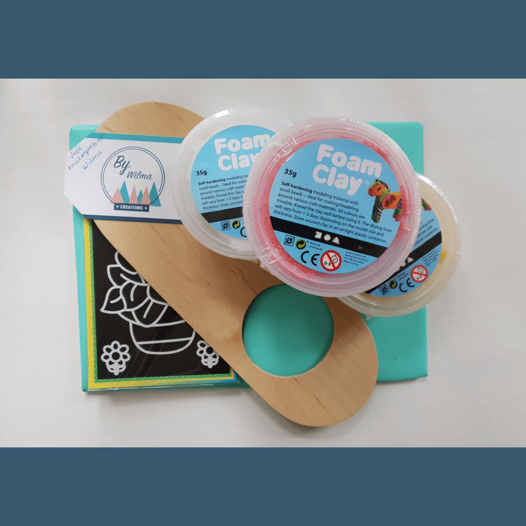 Deurhanger Foam Clay pakket