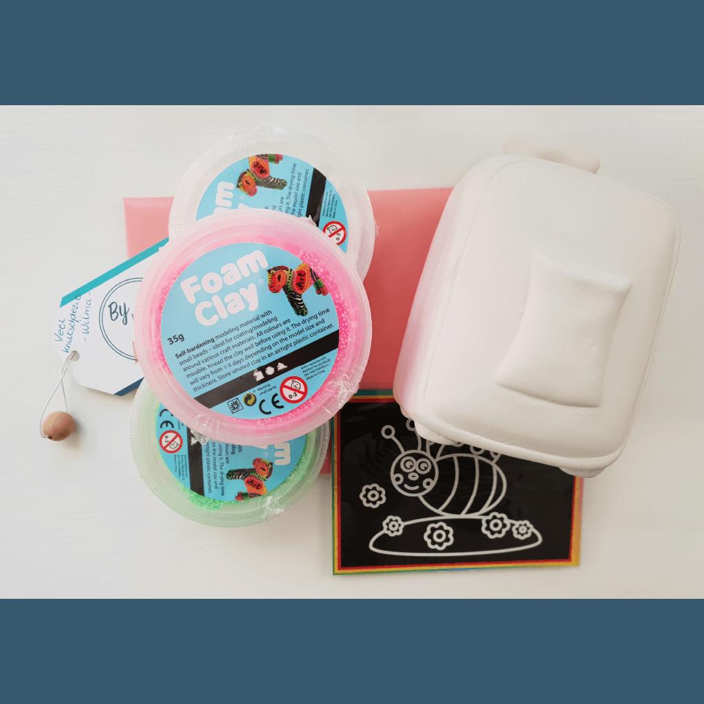 Koffer Foam Clay pakket