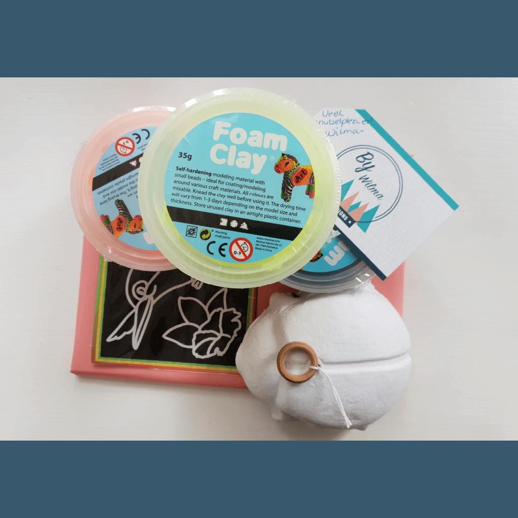 Trekdier Foam Clay pakket
